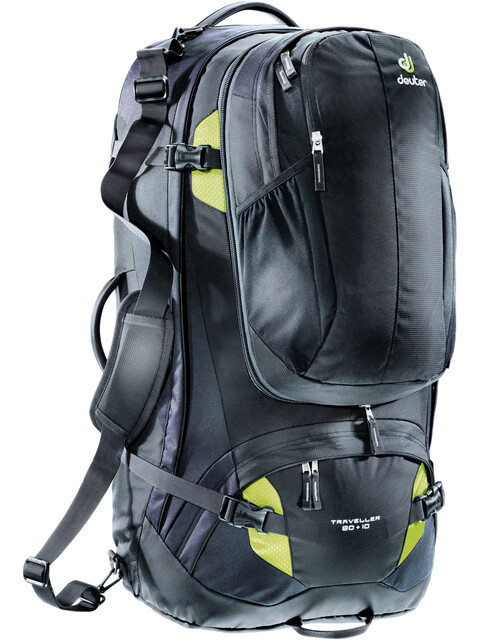 Deuter Traveller 80 + 10 Rygsæk sort